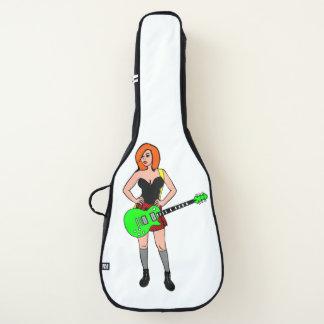Rock-and-Rollmädchen Gitarrentasche