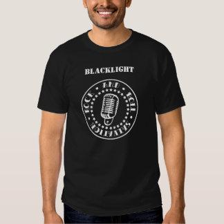 Rock-and-Rollrettungs-Schwarzes T-shirts