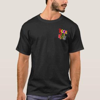 Rock-and-RollT - Shirt-Fronten-Tasche und T-Shirt