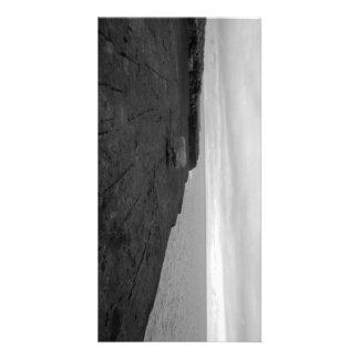 Rock Cliff Sea 20,3cm x 10,16cm Photocard Personalisierte Foto Karte