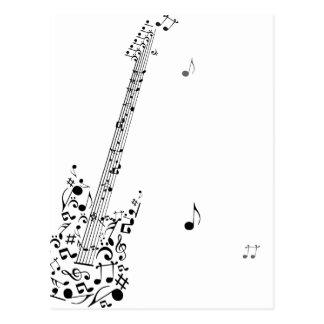 Rock Festival Postkarte