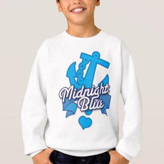Rockabilly Entwurf der blauen Mitternachtsmarine Sweatshirt