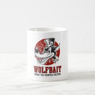 Rockabilly/Psychobilly Wolfbait Grafik Kaffeetasse
