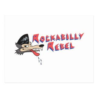 Rockabilly Rebell Postkarte