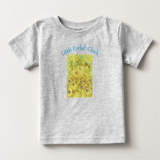 ROCKER-KÜKEN Mosh Grube BABY-JERSEY-T-SHIRT Heide Baby T-shirt
