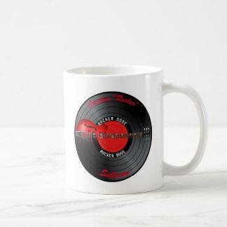 Rocker-Typ-Gitarren-Rekordname Kaffeetasse