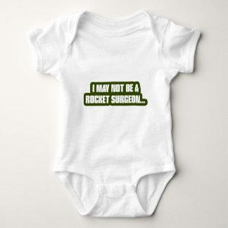 Rocket-Chirurg Baby Strampler