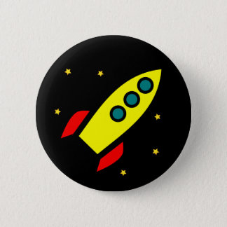 Rocket-Knopf Runder Button 5,1 Cm