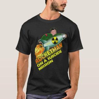 Rocket-Mann lustiger UNO-Trumpf-Zitat-T - Shirt