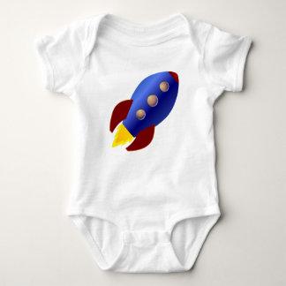 Rocket-Schiff Baby Strampler