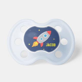 Rocket-Schiff, Weltraum, für Babys Baby Schnuller