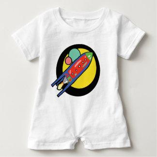 Rocket-Schiffs-Baby-Spielanzug Baby Strampler