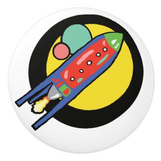 Rocket-Schiffs-kundenspezifischer Keramik-Griff Keramikknauf