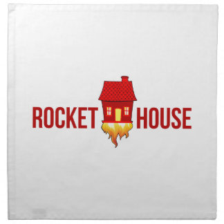 RocketHouse Logo T Stoffserviette