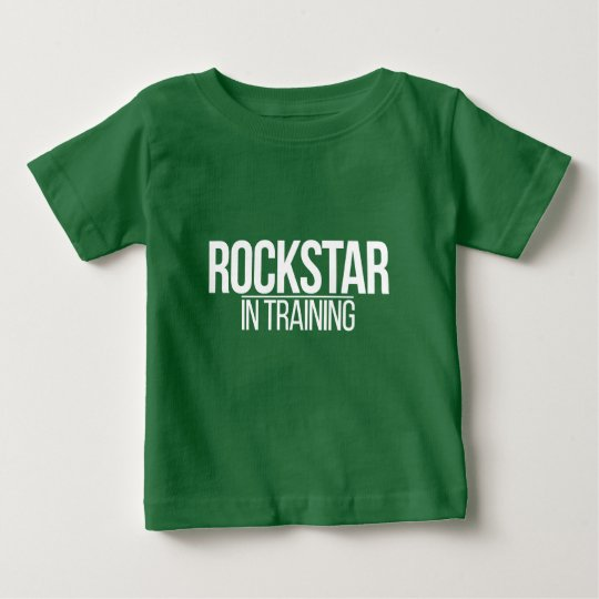 Rockstar im Training Baby T-shirt