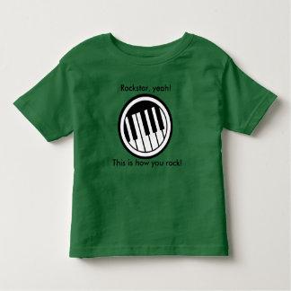 Rockstar, ja! kleinkind t-shirt