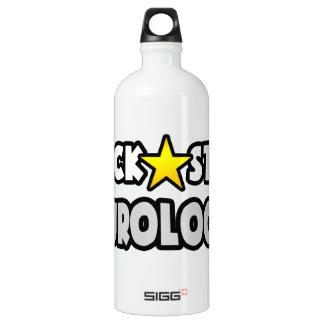 Rockstar-Neurologe Aluminiumwasserflasche