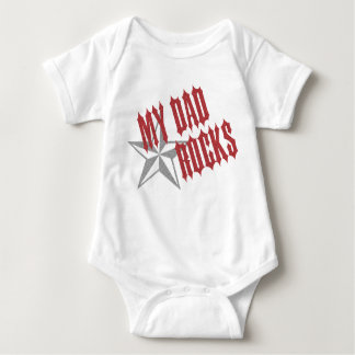 Rockstar-Vati ~ der Vatertag Baby Strampler