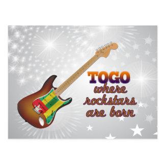 Rockstars sind in Togo geboren Postkarte