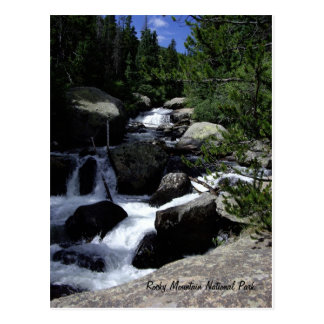 Rocky Mountain Nationalpark Postkarte