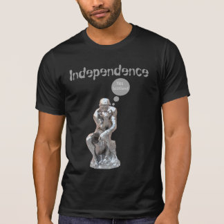 Rodin Denker-schottischer Unabhängigkeits-T - T-Shirt