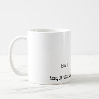 Rodney der Nagetier Roadster Kaffeetasse