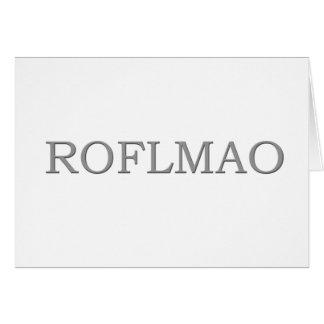 ROFLMAO KARTE