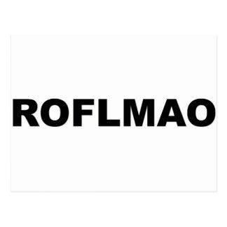 ROFLMAO POSTKARTE