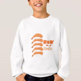 Rohes gesundes sweatshirt