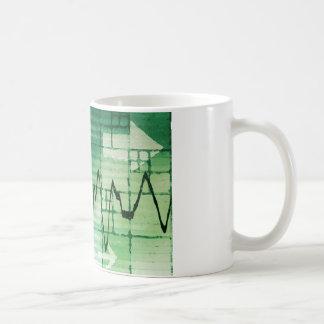 Rohstoffhandel-und Preis-Analyse-Nachrichten-Kunst Kaffeetasse