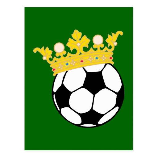 Roi Fußball king plus soccer Carte Postale