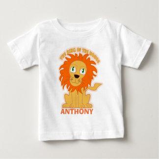 Roi personnalisé de la maison t-shirt pour bébé