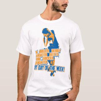 Rollen-Derby-Tochterblau T-Shirt