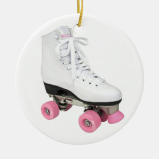 Rollen-Skate Rundes Keramik Ornament