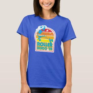 Rollen-Skaten-T-Shirt T-Shirt