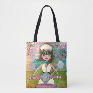 Roller-Girly Taschen-Tasche Tasche