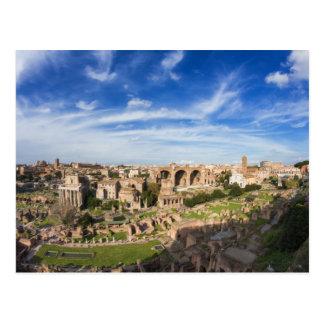 Rom - Ansicht der Forum Romanum Postkarte