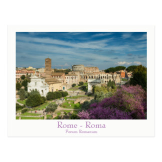 Rom - Forum Romanum Postkarte mit Text