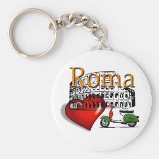 Rom in my Heart Schlüsselanhänger