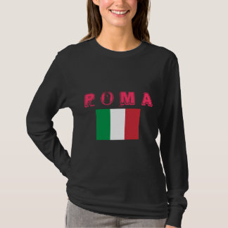 Rom, Italien, Damen-langes Hülsen-Shirt T-Shirt