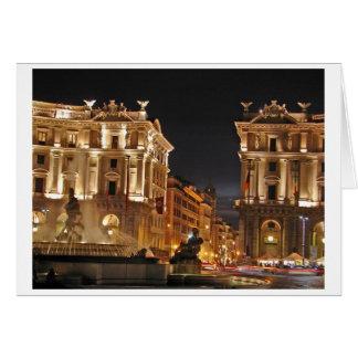 Rom, Italien Karte