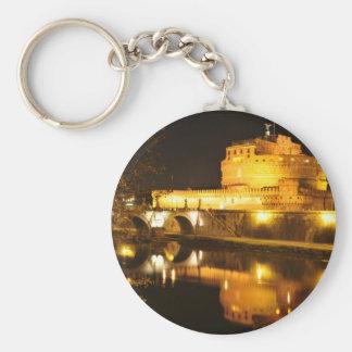 Rom, Italien nachts Schlüsselanhänger