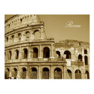 Rom-Kolosseum-nahes hohes Postkarte