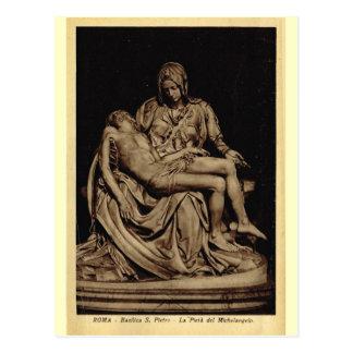 Rom, Pieta, durch Michelangelo Postkarte