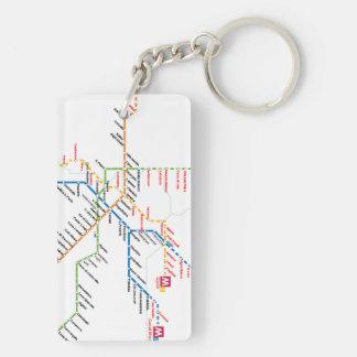 Rom-Transport Keychain Schlüsselanhänger