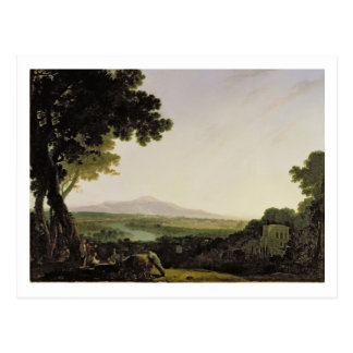 Rom vom Landhaus Madama (Öl auf Leinwand) Postkarte