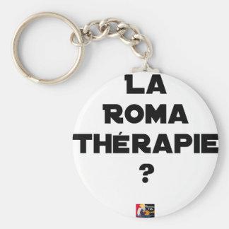 Roma Therapie - Wortspiele - Francois Ville Schlüsselanhänger