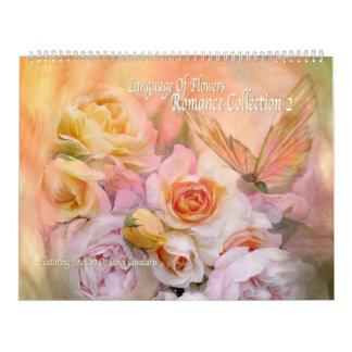 Romance Kunst-Kalender der Sammlungs-2 Abreißkalender