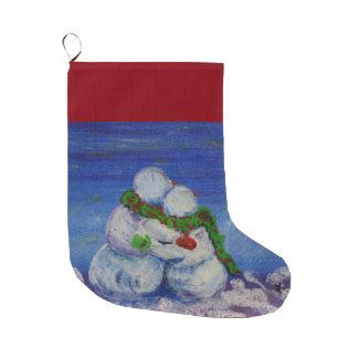 Romancing Snowman-WeihnachtsStrumpf Großer Weihnachtsstrumpf
