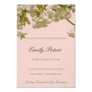 Romantische Frühlings-Sommer-Kirschblüten-Hochzeit Karte